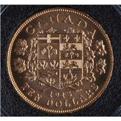 1913 Canadian Ten Dollar Gold