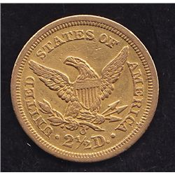 1842O US $2 1/2 Gold