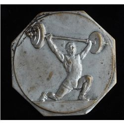 1953 Weight Lifting Medal