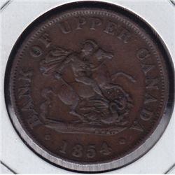 Bank of Upper Canada Half Penny Bank Token