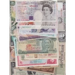 Lot of Miscellaneous World Banknotes