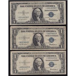 Lot of 25 USA 1935 $1 Silver Certificates.