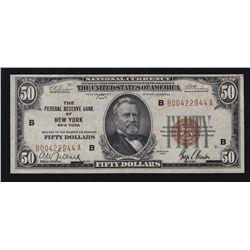 1929 USA $50