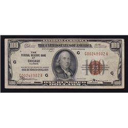 1929 USA $100