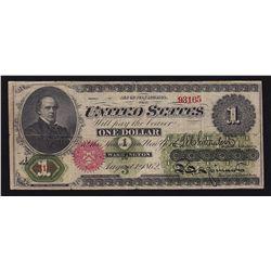 1862 USA $1