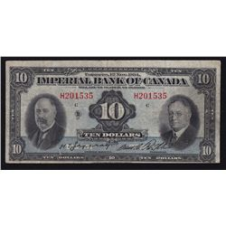 1934 Imperial Bank of Canada $10