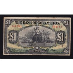 1930 Bank of Nova Scotia 1 Pound