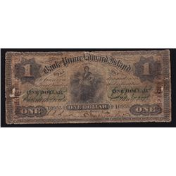 1877 Bank of Prince Edward Island $1