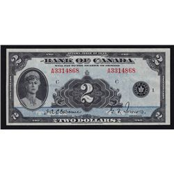 1935 Bank of Canada $2