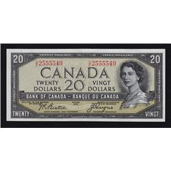 1954 Bank of Canada $20 Devil's Face