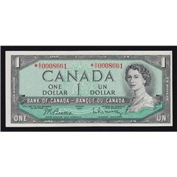 1954 Bank of Canada $1 Replacement Note