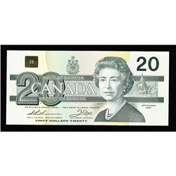 1991 Bank of Canada $20
