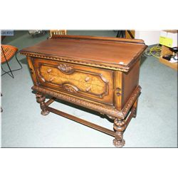 A two drawer server to match lot 256