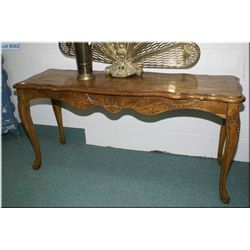 Sofa table to match lot 281