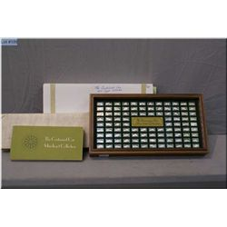 """Franklin Mint sterling silver """"Centennial Car Mini Ingot Collection"""" in presentation box complete wi"""