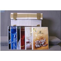 Selection of Swarovski crystal collector magazines