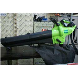 Turfchare electric leaf blower/sucker