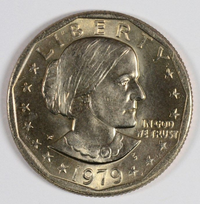 1979 SUSAN B  ANTHONY DOLLAR, ( NEAR DATE ) MS-65