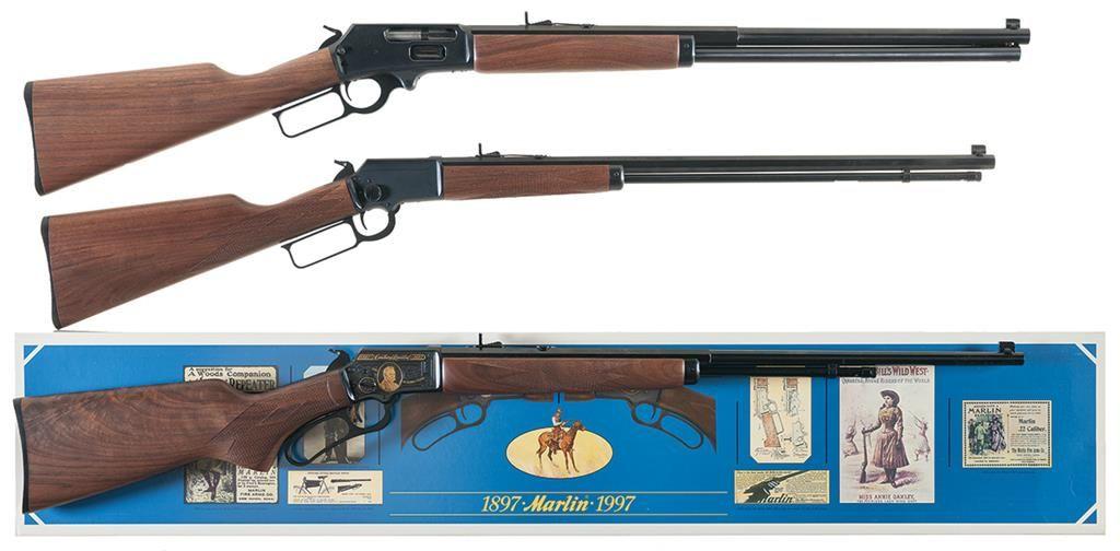 Three Boxed Marlin Lever Action Rifles -A) Marlin Model 1895 LTD Rifle