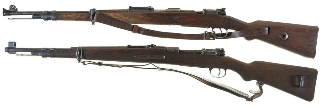 Two Bolt Action Military Rifles -A) Polish