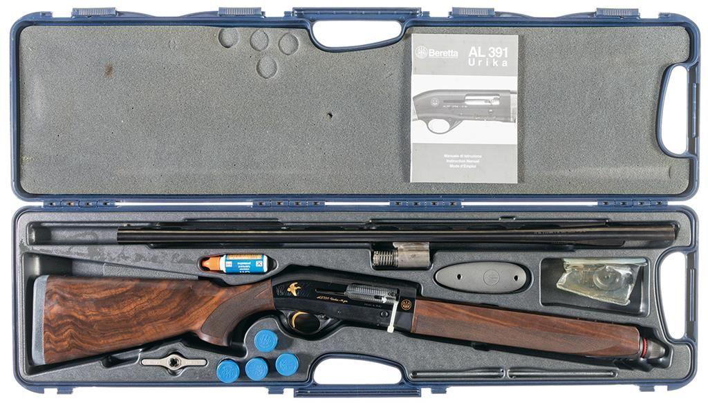 Beretta AL391 Urika 2 Gold Semi-Automatic Shotgun with Case