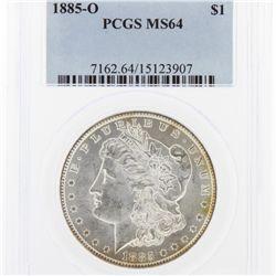 1885-O Morgan Silver Dollar PCGS Graded MS64 SCE1165