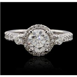 14KT White Gold 2.00ctw Diamond  Ring GB4681