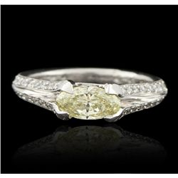 Platinum 1.00ctw Diamond Unity Ring GB3223