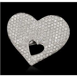 18KT White Gold 2.02ctw Diamond Ring FJM3137