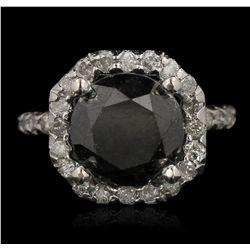 14KT White Gold 6.76ct Diamond Ring RM1554