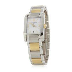 Baume & Mercier Two Tone Ladies Geneve Wristwatch GB3427