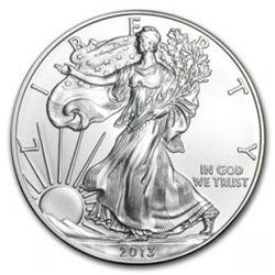 2013 American Silver Eagle Dollar GEM BU Coin 2013_MNTCN1