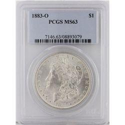 1883-O Morgan Silver Dollar PCGS Graded MS63 SCE1084
