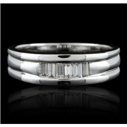14KT White Gold 0.50ctw Diamond Ring GB2776