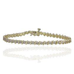 10KT Yellow Gold 1.00ctw Diamond Bracelet GB2893