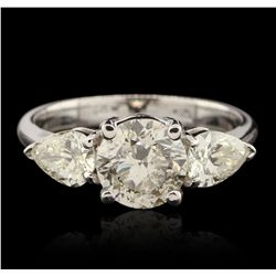 14KT White Gold 2.37ctw Diamond Ring GB4532