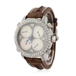 Gents Jacob & Co H24 Five Time Zone Diamond Wristwatch GB2236