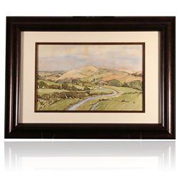 Original Signed Watercolor Painting by Michael Sanders ED1795