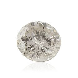 GIA Certified 0.35ct I-2/I Round Cut Loose Diamond GB4255
