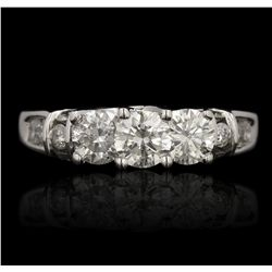14KT White Gold 2.30ctw Diamond Ring GB4625