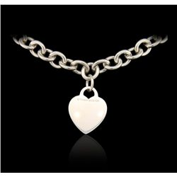 Tiffany & Co. Silver Heart Necklace GB4767