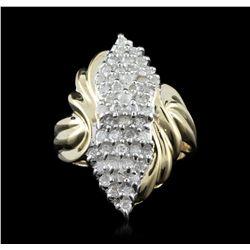 10KT Yellow Gold 0.50ctw Diamond Ring GB2669