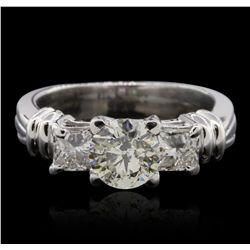 Platinum 1.55ctw Diamond  Ring GB4686