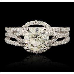 18KT White Gold 2.52ctw Diamond Ring GB4547