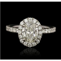 14KT White Gold 2.00ct Diamond Ring A5829