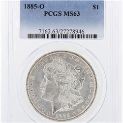 1885-O Morgan Silver Dollar PCGS Graded MS63 SCE1008
