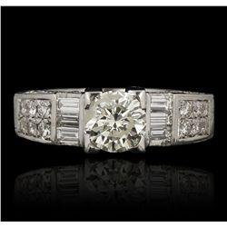 18KT White Gold 1.23ct I-1/M Diamond Ring GB3515