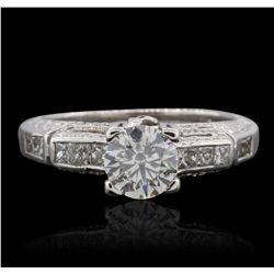 18KT White Gold 1.52ctw Diamond  Ring GB4668