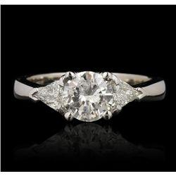 14KT White Gold 1.84ctw Diamond Wedding Ring GB4285