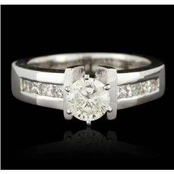 14KT White Gold 1.00ctw Diamond Unity Ring GB3240